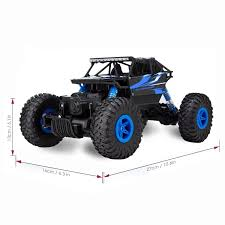 jeep rock buggy remote control monster truck crossrace 4wd remote control car 1 18
