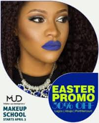 the makeup school mud nigeria mud nigeria makeup school easter promo