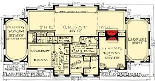 plan 11603gc impressive tudor tudor sitting - Tudor Mansion Floor Plans