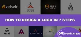 how to design a letter a logo 99 brand designs