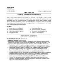 Resume Templates Engineering Click Here To Download This Instrumentation Technician Resume