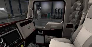 kenworth parts dealer kenworth w900 lux interior v2 for truck american truck simulator
