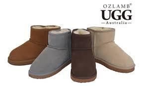 ugg sale groupon ozlamb ugg ankle boots groupon