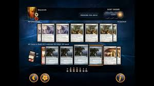 warsmith deck guide and strategy magic 2014 duels of the
