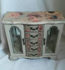 Shabby Chic Jewelry Armoire by Love Shabby Chic Jewelry Box Shabby Chic Jewelry