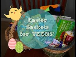 Gift Baskets For Teens Easter Basket Ideas For Teen U0026 Boy Youtube