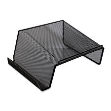 Desk Top Printer Stand by Mesh Desktop Telephone Stand By Universal Unv20015
