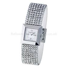 swarovski stainless steel bracelet images Watches piazza ladies 39 stainless steel bracelet swarovski code jpg