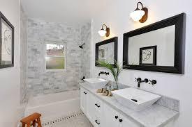 bathroom alcove ideas alcove tub tile ideas bathroom transitional with vanity