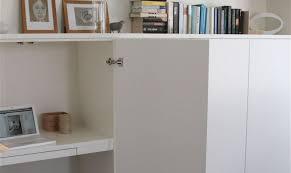 rangement bureau ikea un bureau discret et beaucoup de rangement