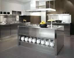 portable kitchen island with storage island storage industrial stainless steel kitchen island counter