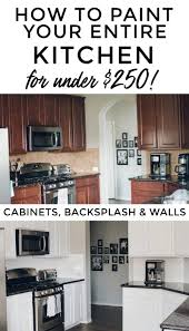 used kitchen cabinets houston how i painted my entire kitchen including the backsplash