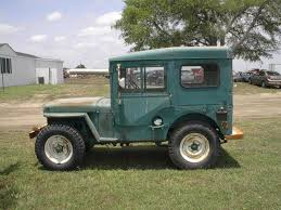 willys jeep off road m38 willys jeep artic top