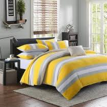 Yellow Grey And White Bedding Grey Bedding Boutique Gray Bedding Sets Are Available For