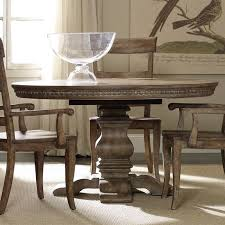 Round Pedestal Dining Tables Round Pedestal Dining Table Hooker Furniture Sorella 54 In Best 25
