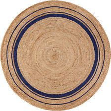Indian Area Rug Jute Circles Indian Area Rugs Ebay