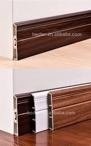 china pvc baseboard plastic wall base moulding trim rubber plinth