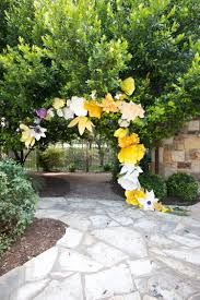 flower arch diy paper flower arch live free creative co