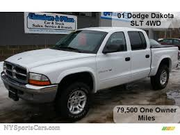 01 dodge dakota cab 2001 dodge dakota slt cab 4x4 in bright white 316792