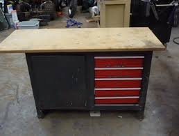 Ideas For Workbench With Drawers Design Craftsman Workbench 5 Drawer Home Design Ideas