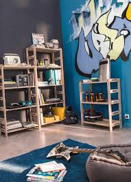 chambre ado stylé le style graffiti pour une chambre galerie et idee deco