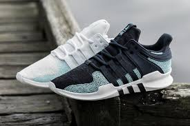adidas x parley eqt support adv ck ink and white hypebeast