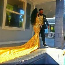 coming to america wedding dress this girl s coming to america dress just won prom 2016 galore