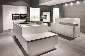 cuisine blanc mat sans poign cuisine blanc mat cuisine santos cuisine santos minos laquac noir