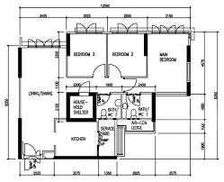 4 bedroom floor plan 4 room bto flat 1 floor plan 3 different looks
