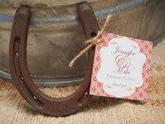 horseshoe party favors western theme party horseshoe favors bookmark keira s b day