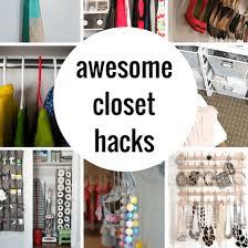 smart closet organization and hack ideas princess pinky