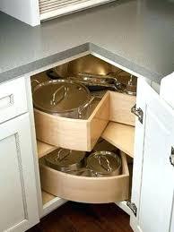 Kitchen Corner Cabinet Storage Solutions Corner Cabinet Storage Solutions Corner Kitchen