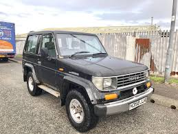 h reg toyota landcruiser lj70 2 4 turbo diesel 4wd manual gearbox