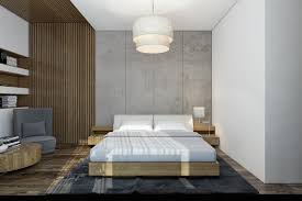 Bedroom Comfortable Bed With Smooth 17 Dazzling Bedrooms With Concrete Wall That Will Impress You