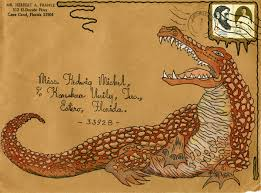 Decorated Envelopes Top 5 Creatures On Florida Memory The Florida Memory Blog
