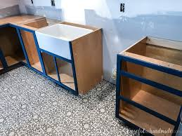 how to build custom base cabinets how to build base cabinets houseful of handmade