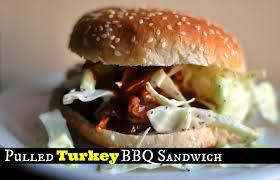 thanksgiving turkey sandwich recipe pulled leftover turkey bbq sandwich aunt bee u0027s recipes