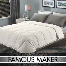 famous maker signature eurobox stitch down alternative comforter