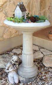 Mini Fairy Garden Ideas by Birdbath As A Fairy Garden Fairygarden Miniature Fairy Gardens