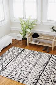 White And Black Area Rug Carpet Rug Black And White Area Rugs For The Room Fittings