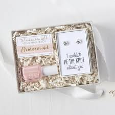 Will You Be My Maid Of Honor Gift Tie The Knot Mini Gift Box Foxblossom Co