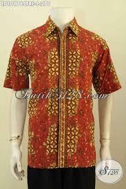 desain baju batik halus model baju batik kemeja buatan solo hadir dengan desain modern dan
