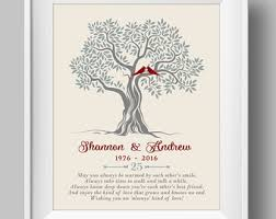 25th anniversary gifts for parents 25th anniversary etsy