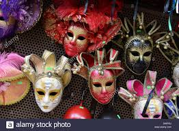 venetian masks for sale venetian masks mask masque on sale verona italy stock photo