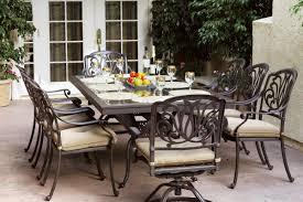 astoria grand skyloft traditional 9 piece dining set with cushions