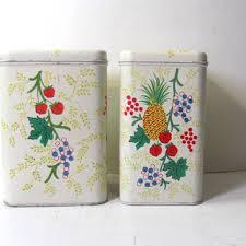 vintage kitchen canisters sets vintage kitchen canister sets on wanelo