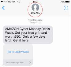 fake target black friday fraudsters target shoppers with fake amazon text message promising