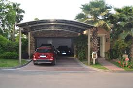 how to make carport ideas penaime impressive modern carport with grey concrete floor brings modern touch inside it also has grey roof