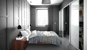 rideau placard chambre un rideau de chambre à thème gris deco in