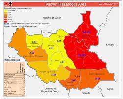 South Sudan Map Maps Unmas South Sudan